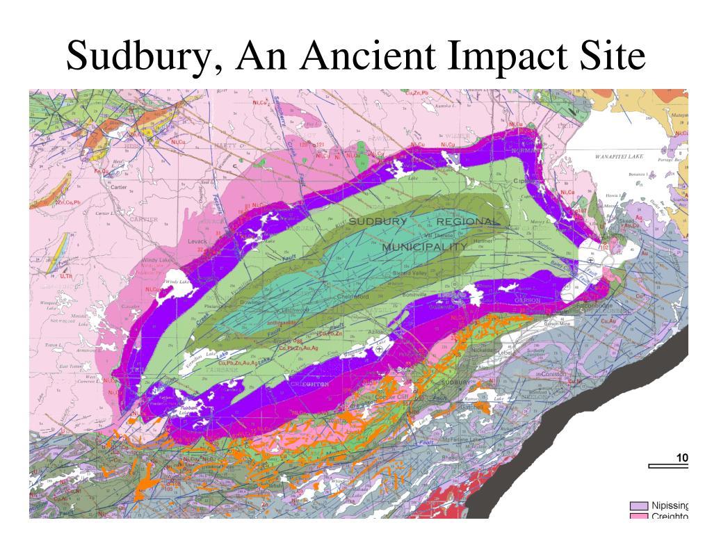Sudbury, An Ancient Impact Site