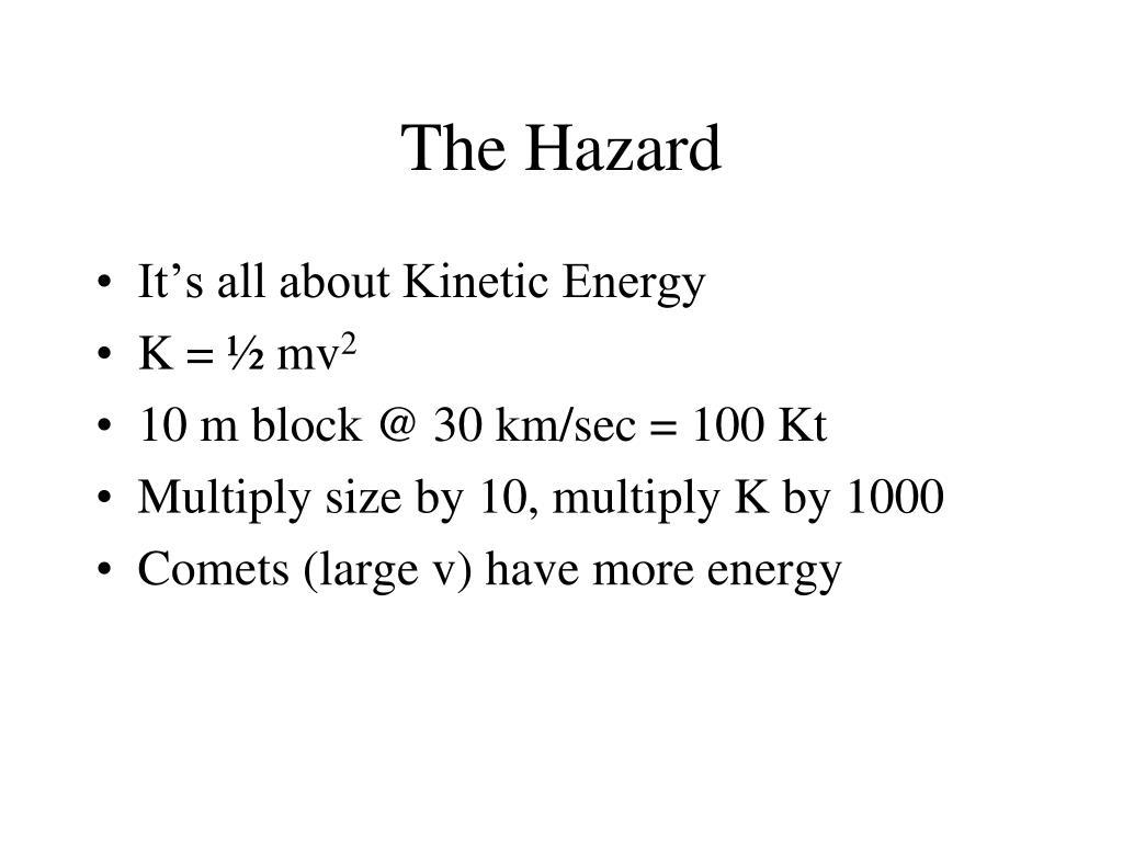 The Hazard
