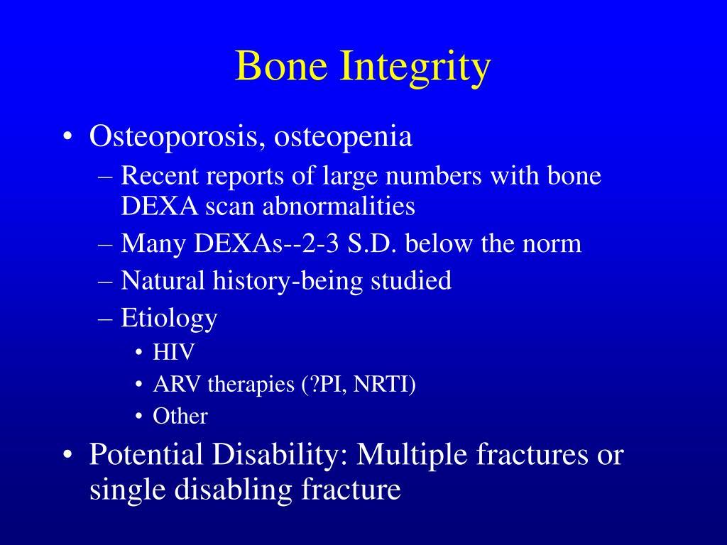 Bone Integrity