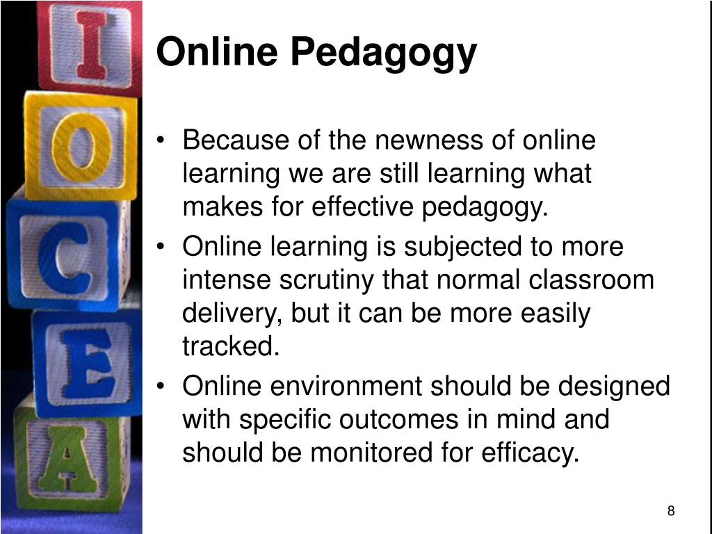 Online Pedagogy