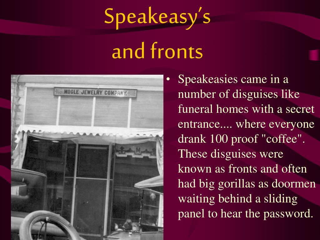 Speakeasy's