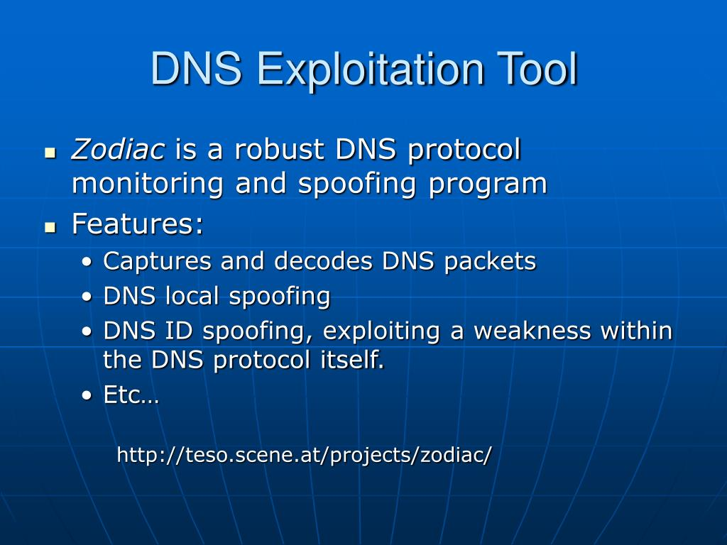 DNS Exploitation Tool