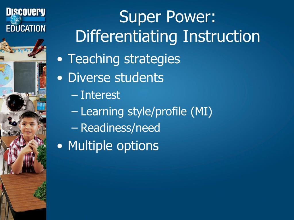 Super Power: