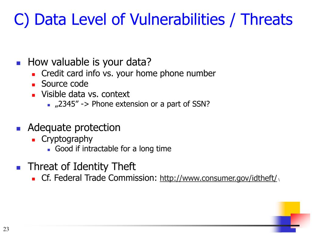 How valuable is your data?