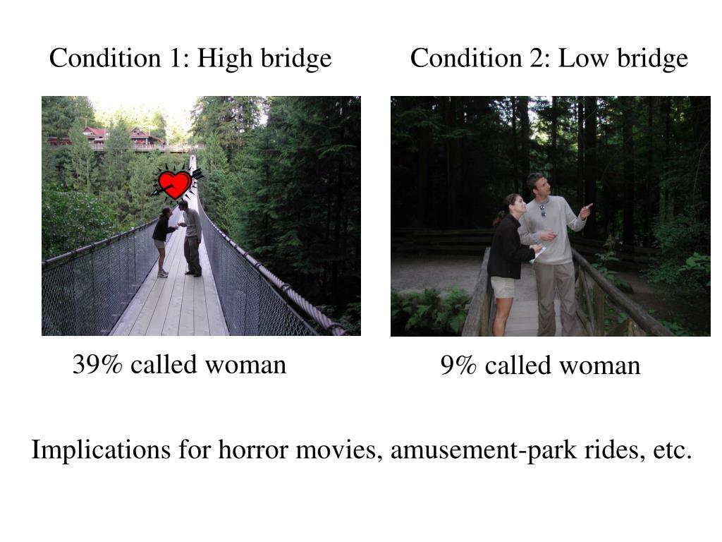 Condition 1: High bridge