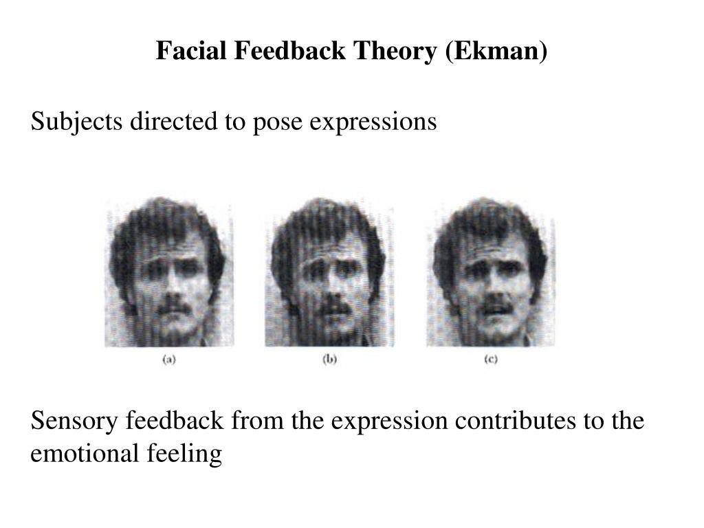 Facial Feedback Theory (Ekman)
