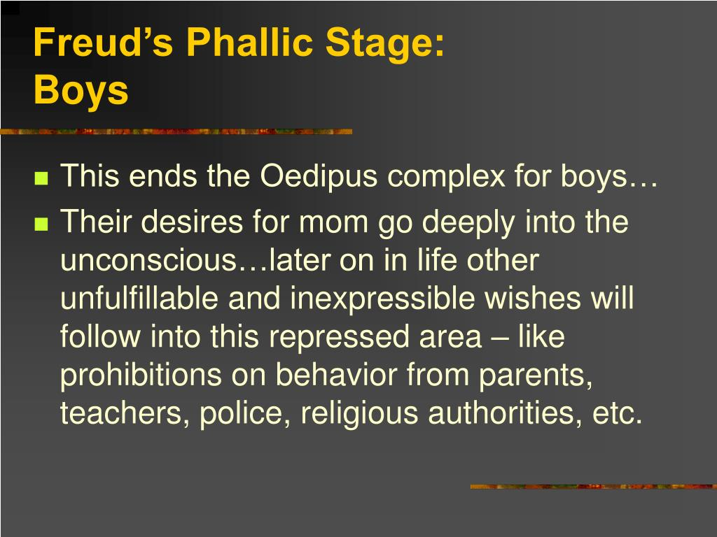 Freud's Phallic Stage: