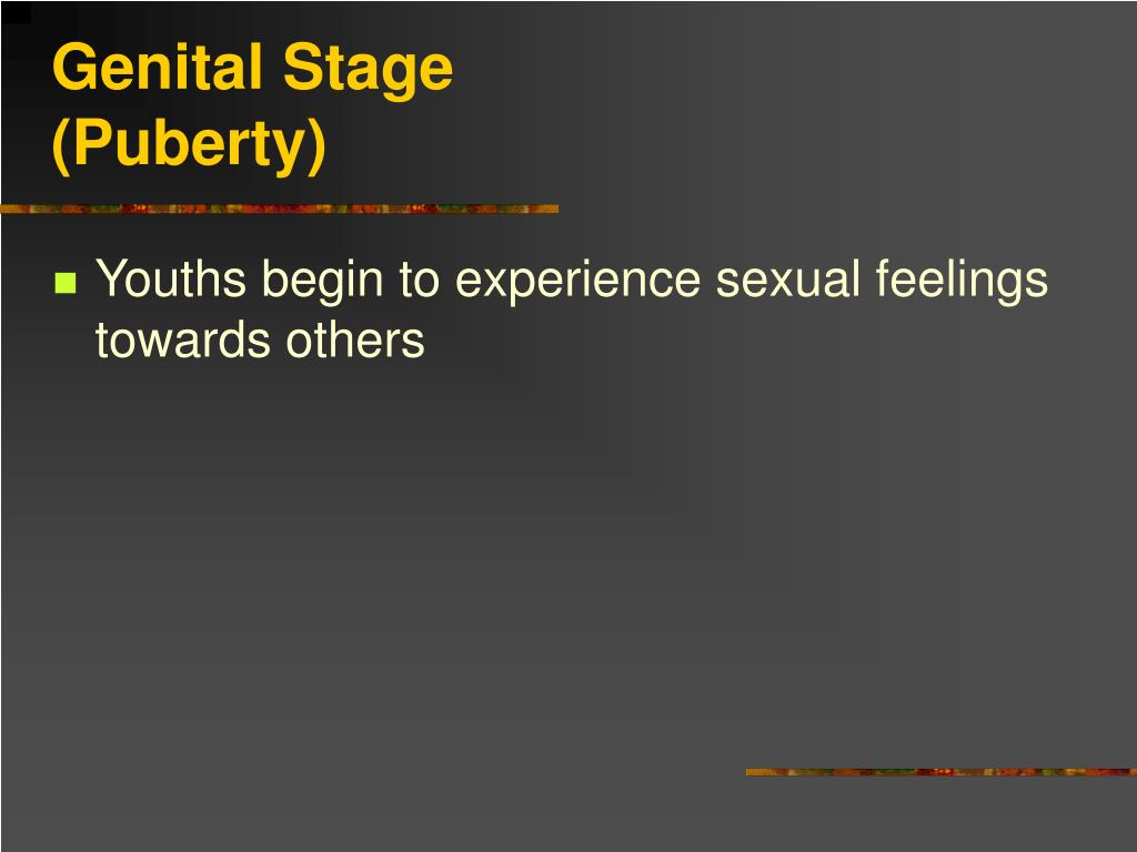 Genital Stage