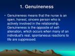 1 genuineness