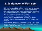 3 exploration of feelings
