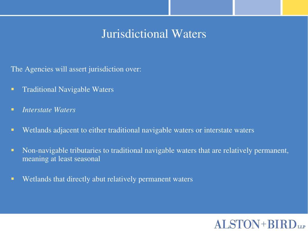 Jurisdictional Waters