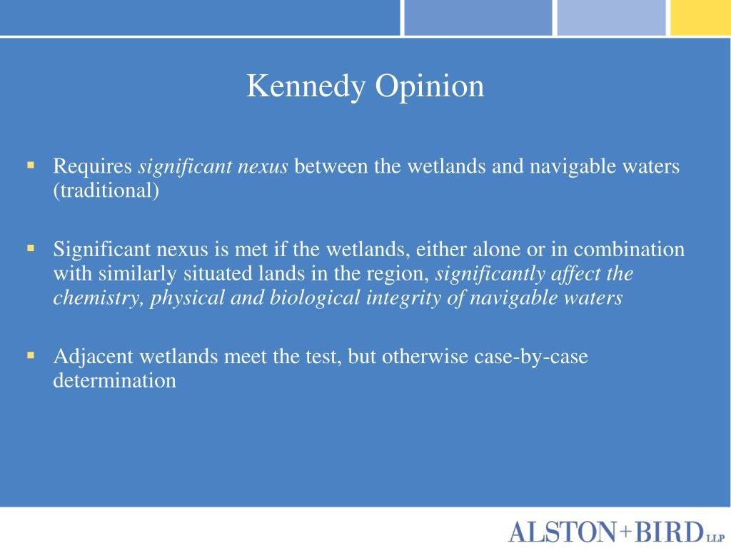 Kennedy Opinion