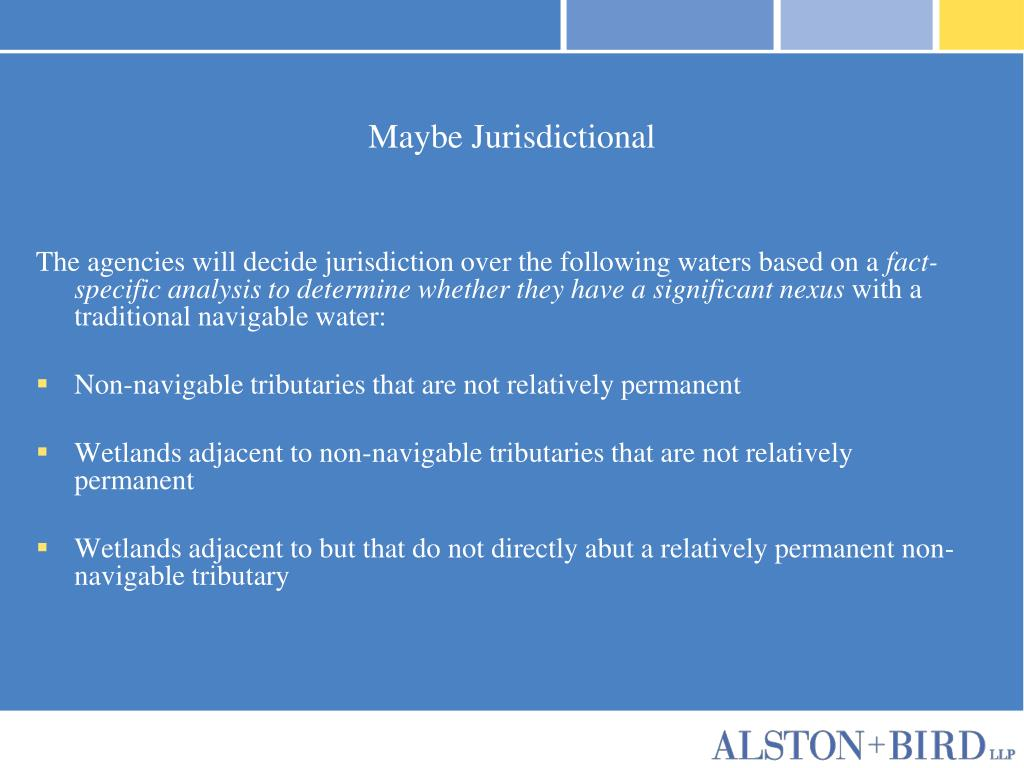Maybe Jurisdictional