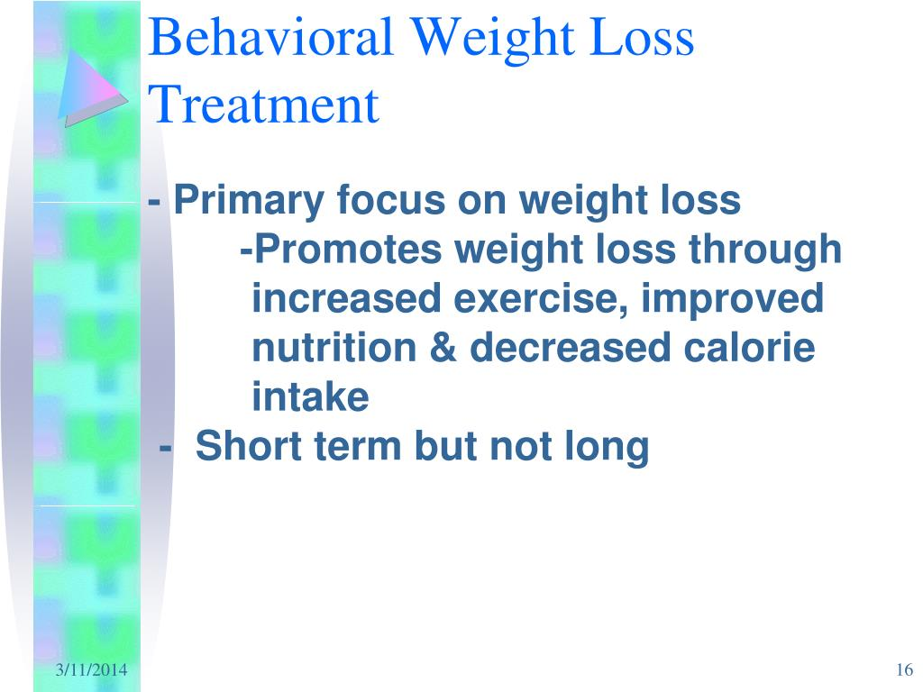 Behavioral Weight Loss Treatment