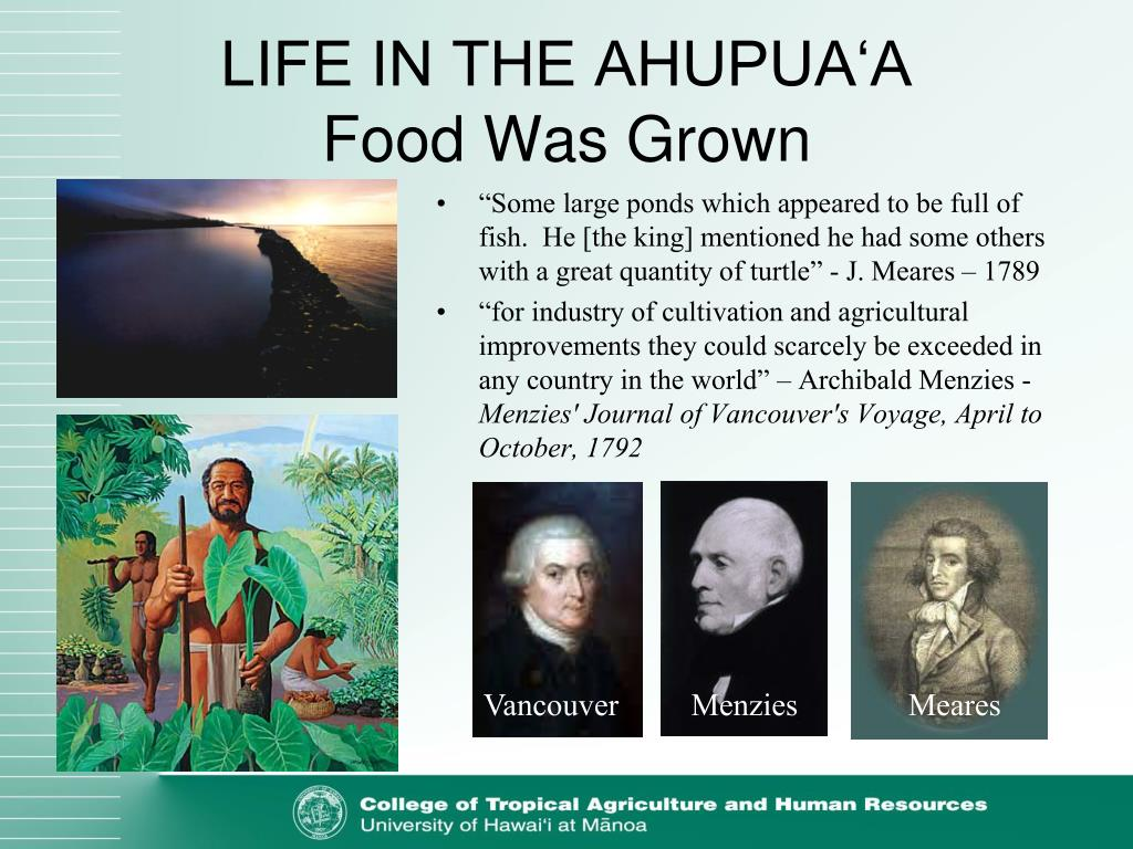 LIFE IN THE AHUPUA'A