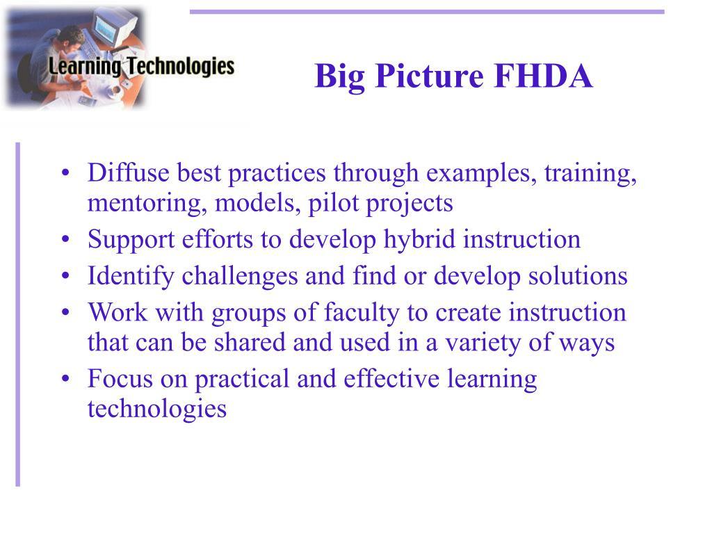 Big Picture FHDA