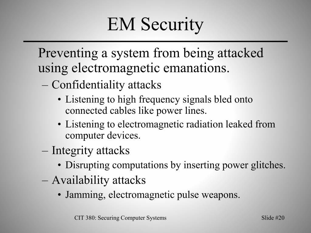 EM Security