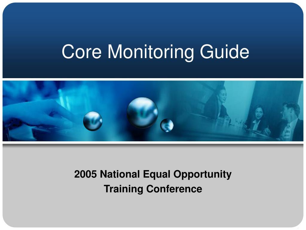 Core Monitoring Guide