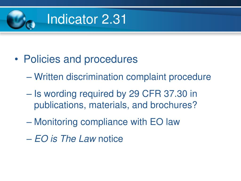 Indicator 2.31
