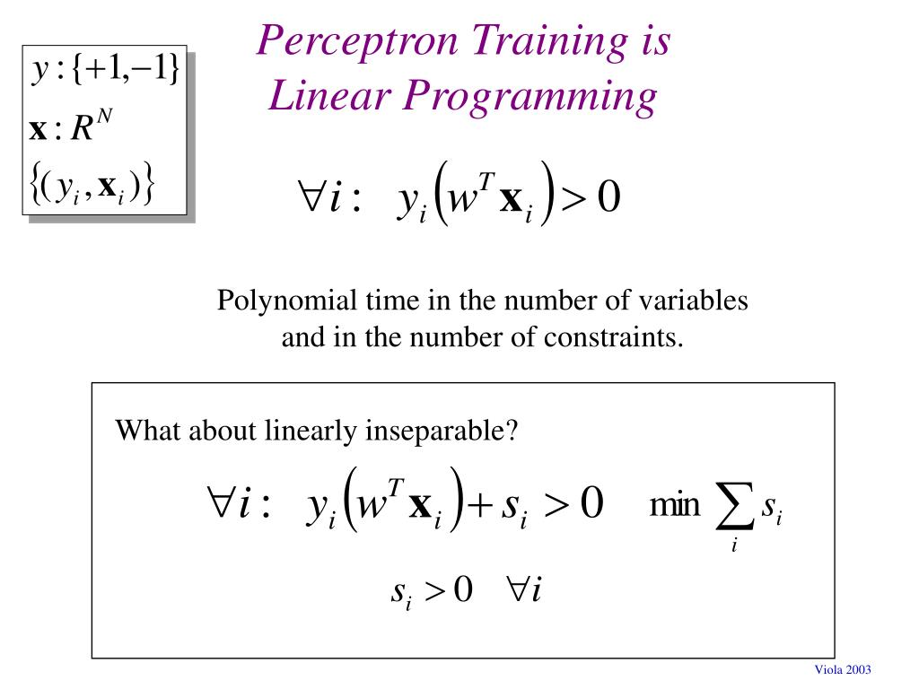What about linearly inseparable?