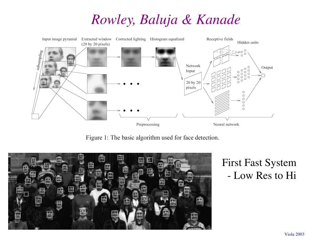 Rowley, Baluja & Kanade