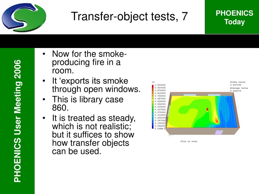 Transfer-object tests, 7