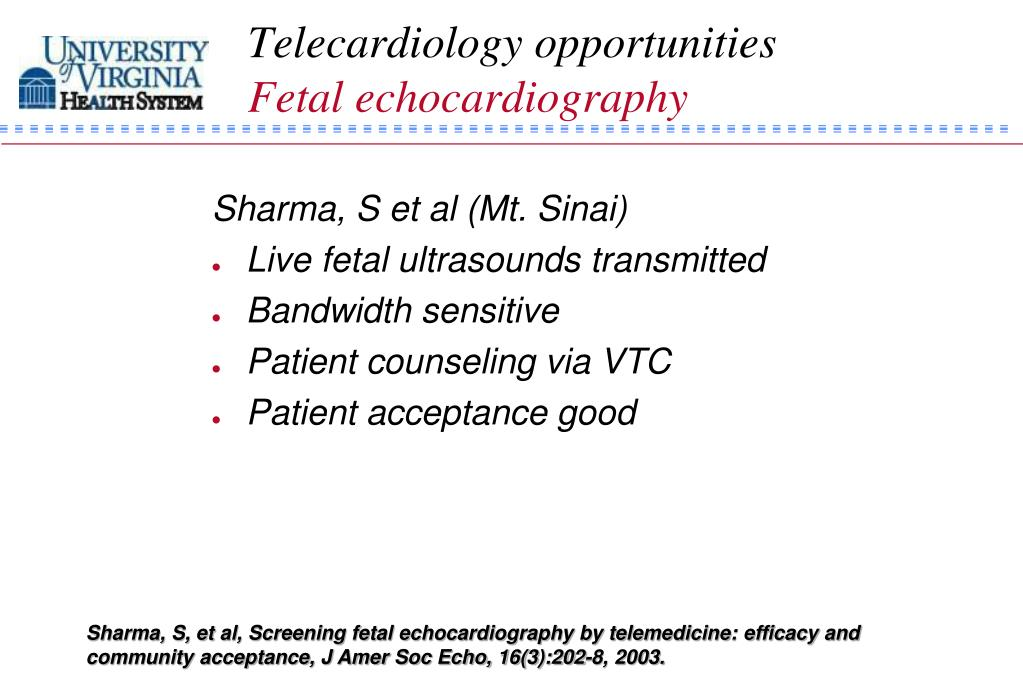Telecardiology opportunities