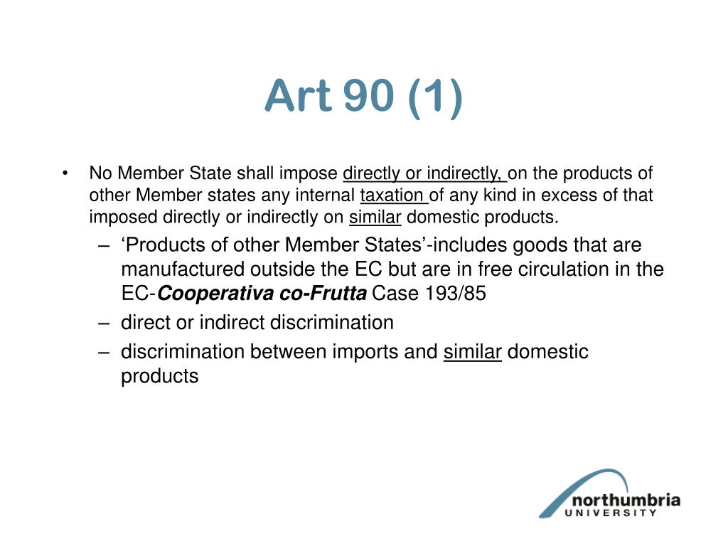 Art 90 (1)