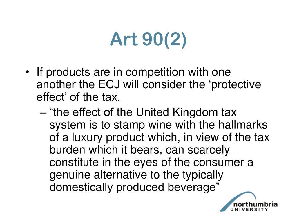 Art 90(2)