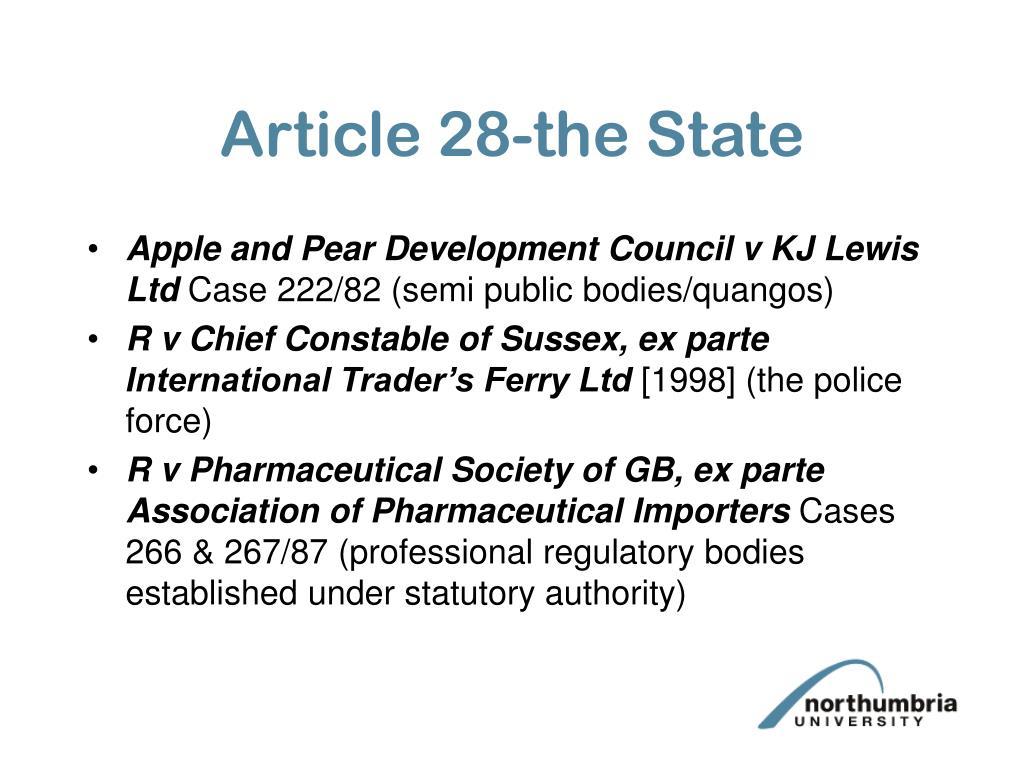 Article 28-the State