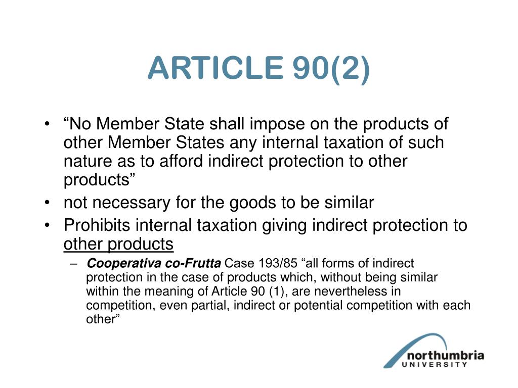 ARTICLE 90(2)