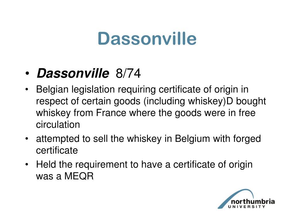 Dassonville