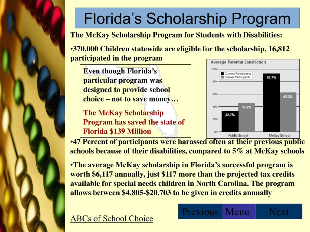 Florida's Scholarship Program