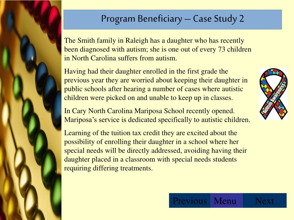 Program Beneficiary – Case Study 2