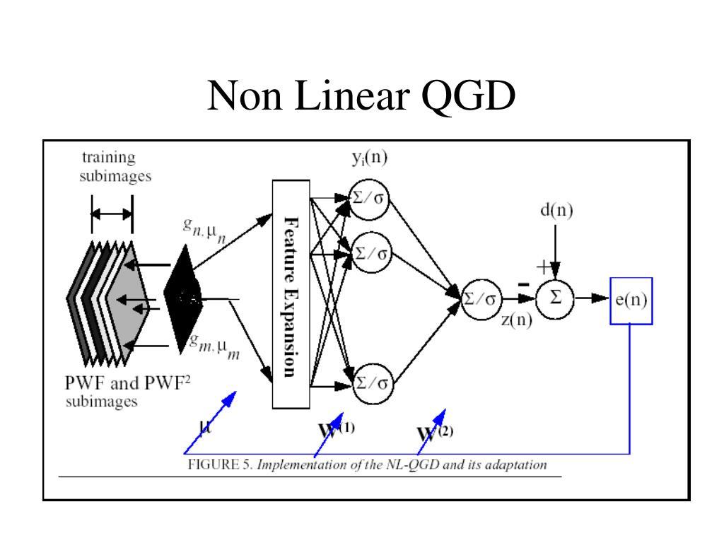 Non Linear QGD