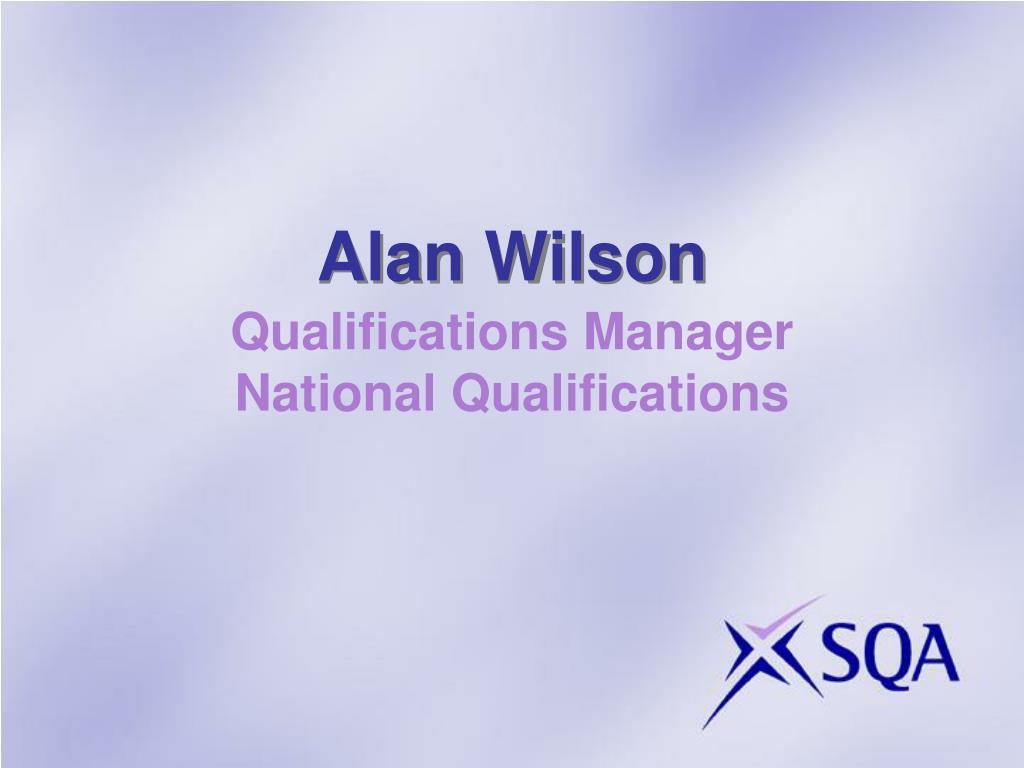 Alan Wilson