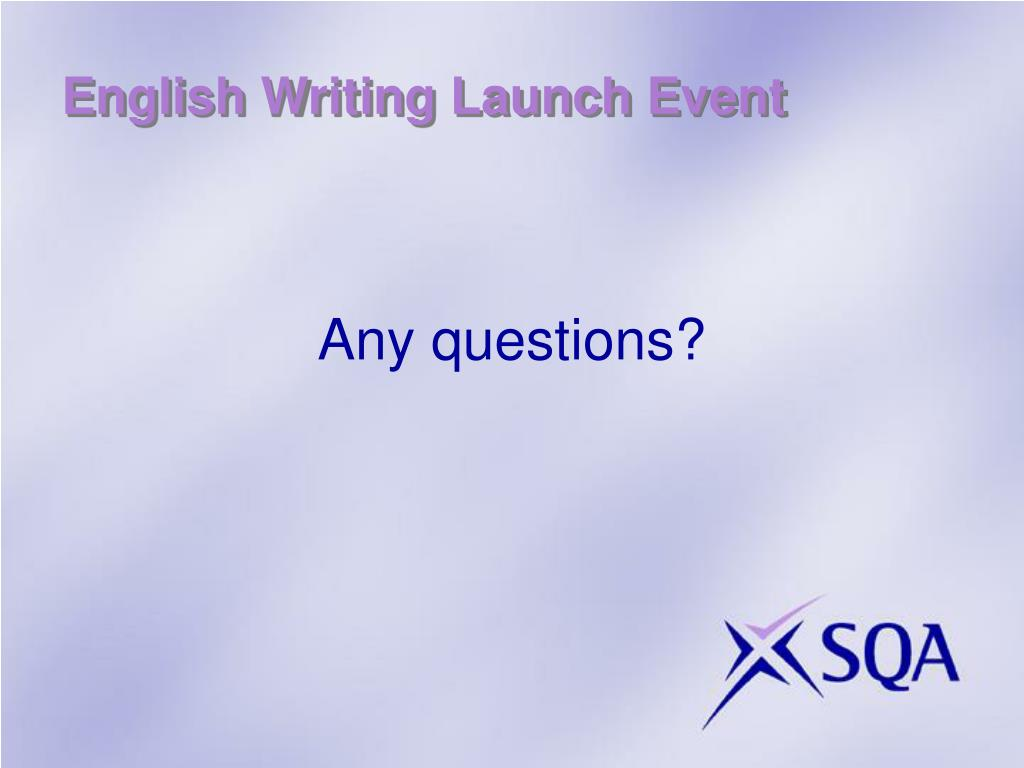 English Writing Launch Event