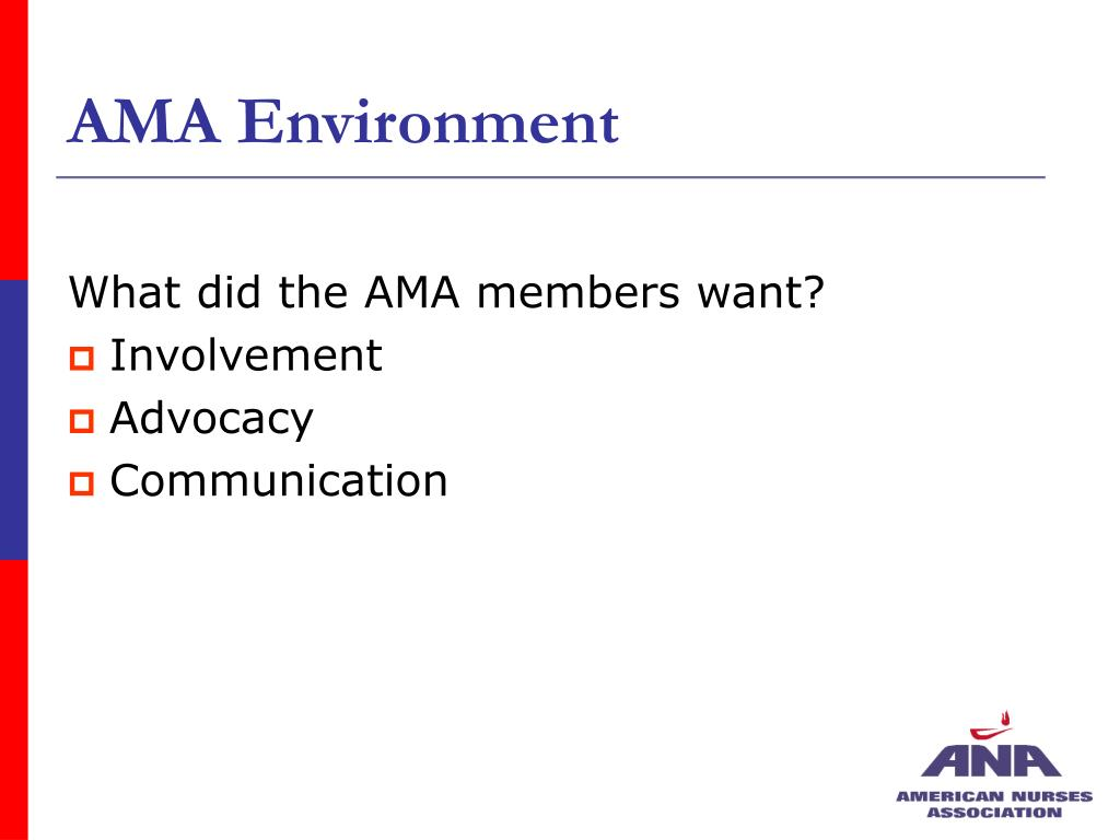 AMA Environment