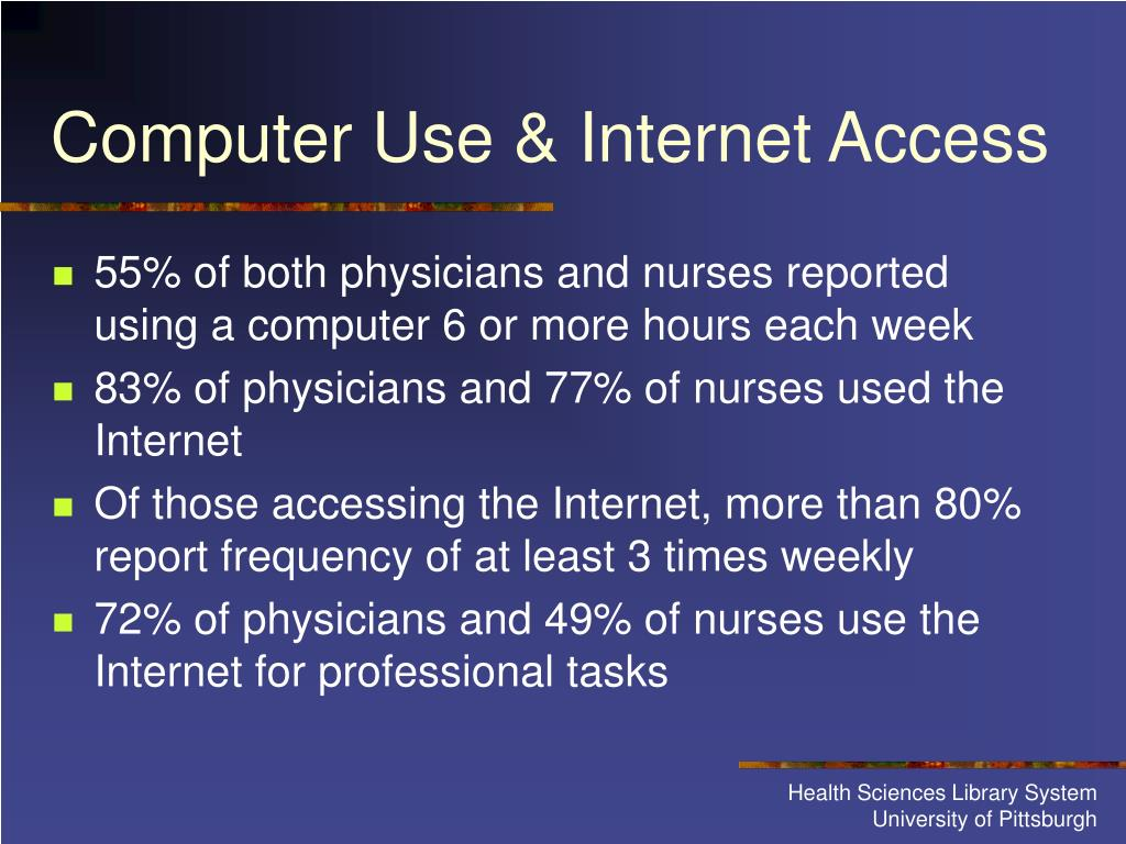 Computer Use & Internet Access