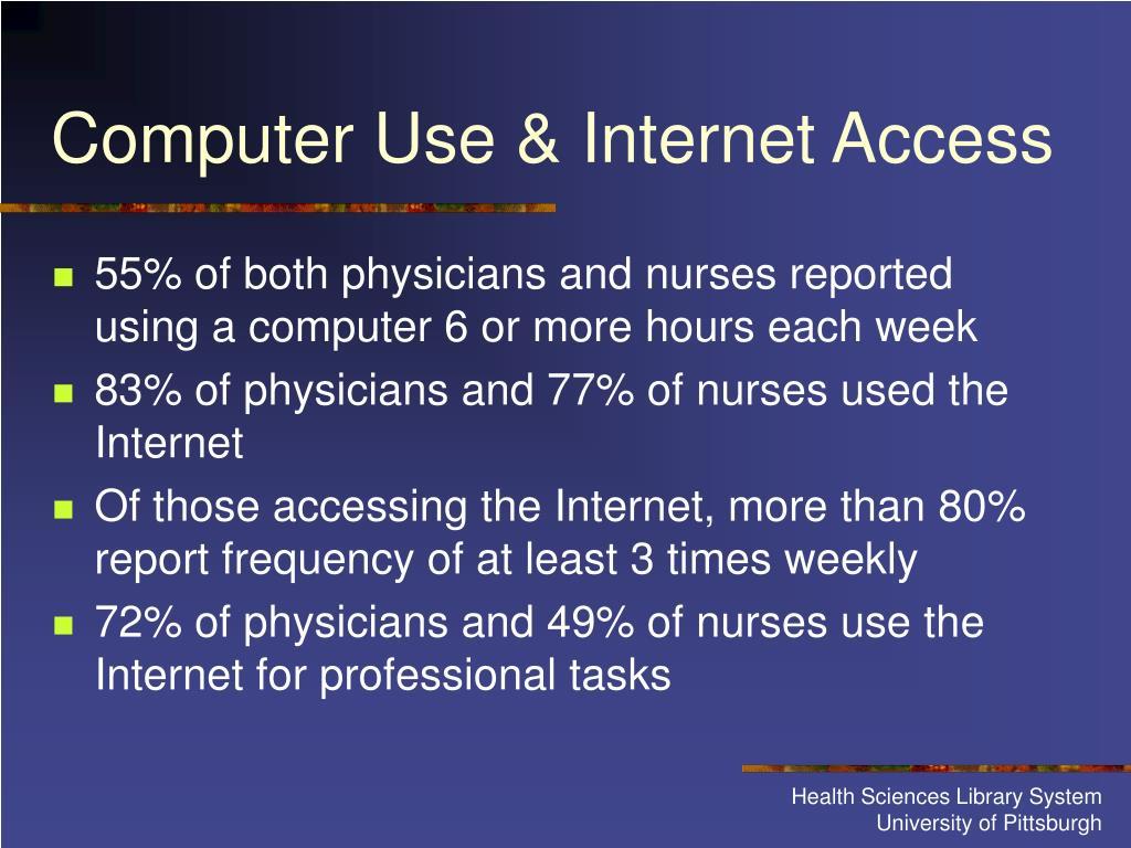 Computer Use & Internet Access