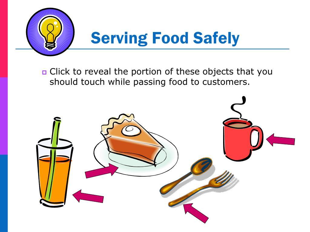 Serving Food Safely