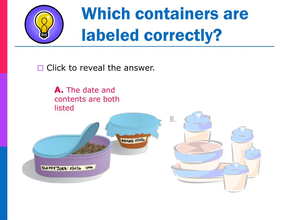 Which containers are