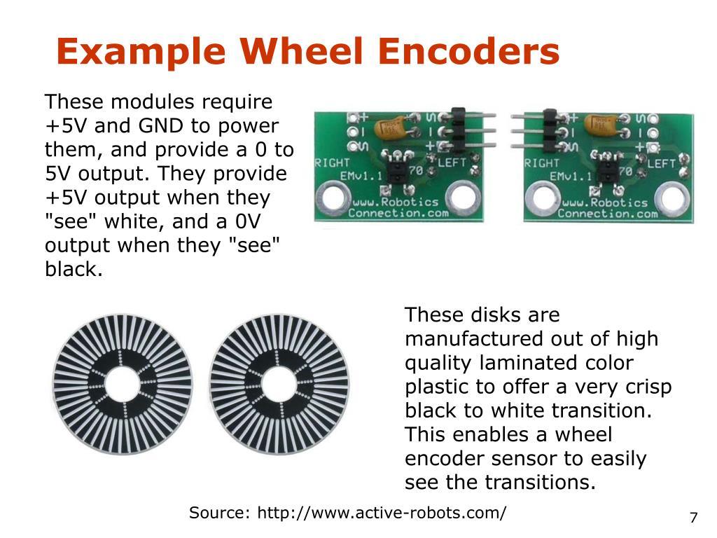 Example Wheel Encoders