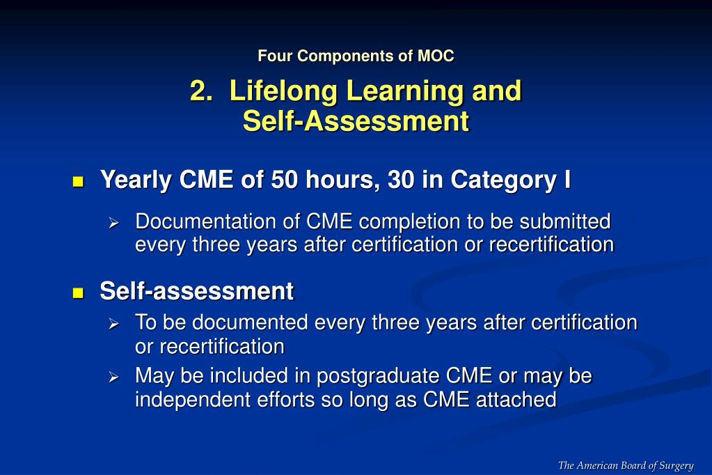 Four Components of MOC