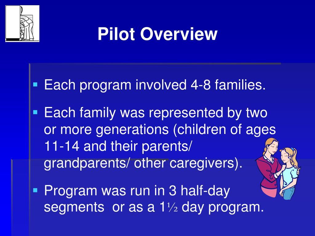 Pilot Overview