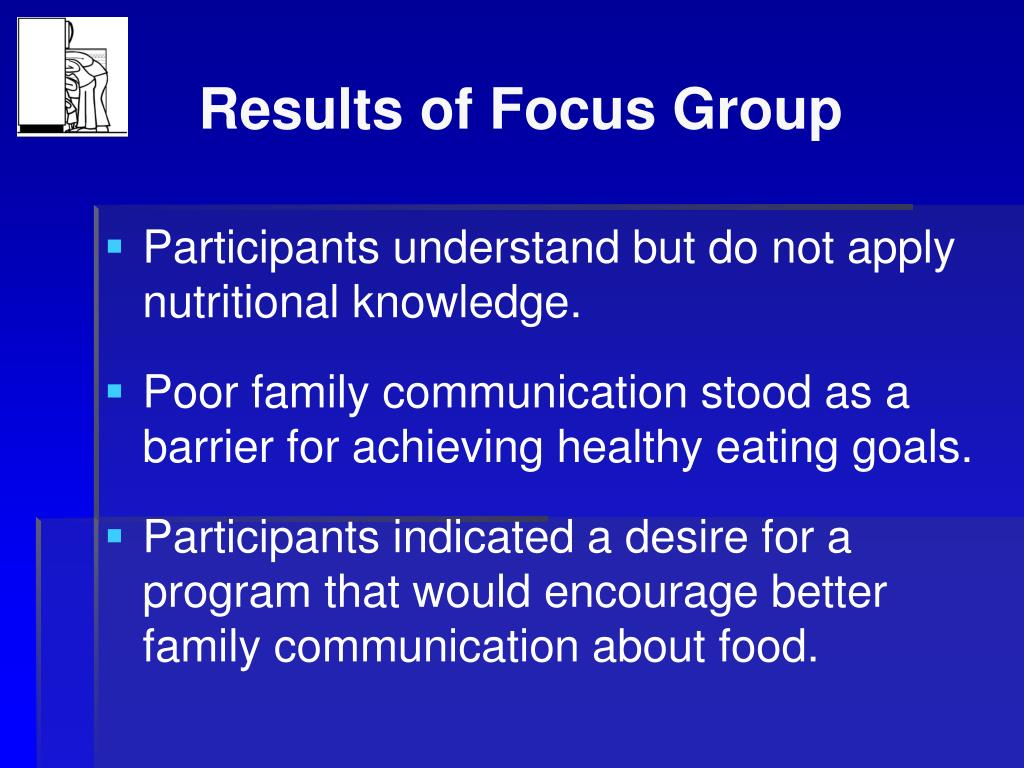 Results of Focus Group