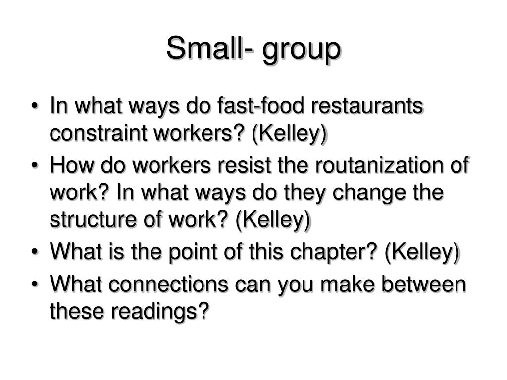Small- group