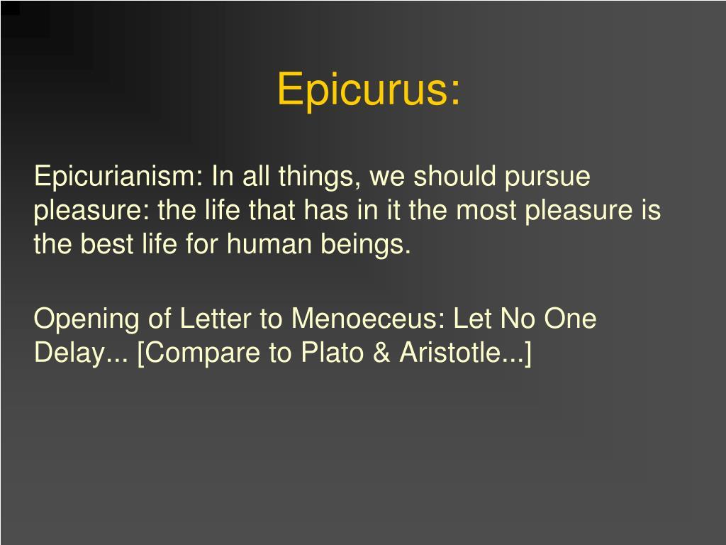 Epicurus:
