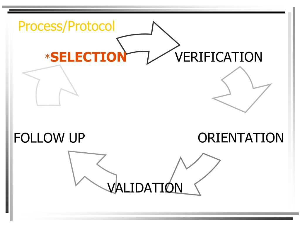Process/Protocol