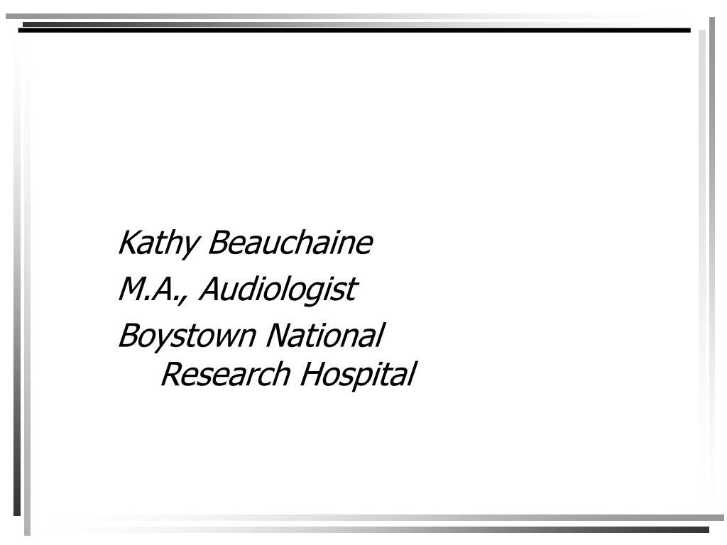 Kathy Beauchaine